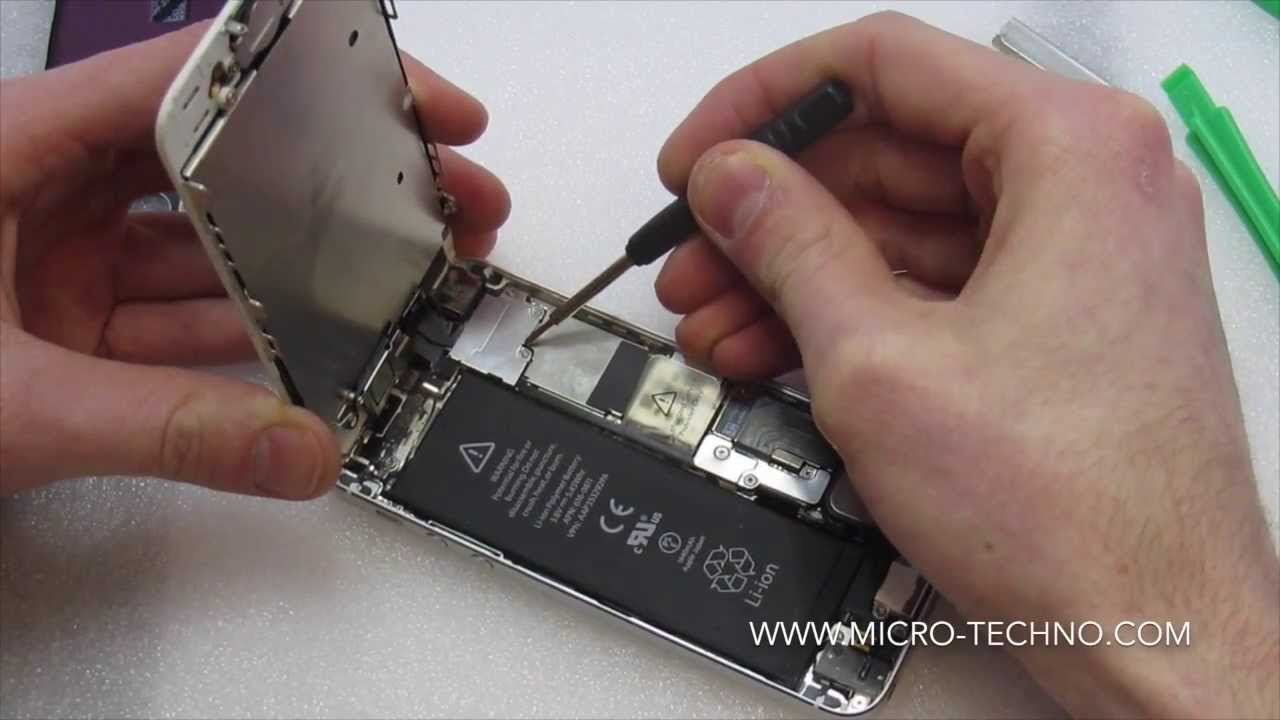 comment reparer iphone