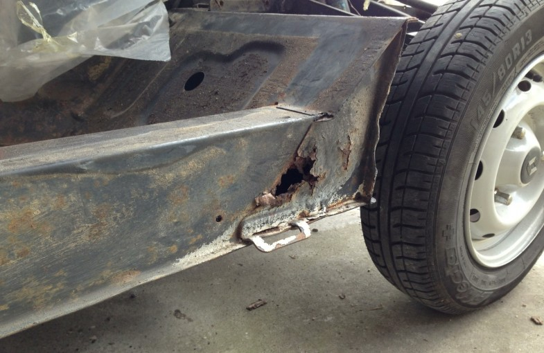 comment reparer chassis 4l photo 3