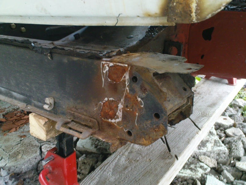 comment reparer chassis 4l