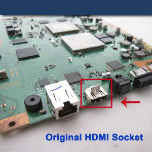 comment reparer hdmi ps3 photo 2
