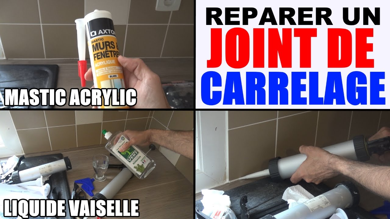 comment réparer joint carrelage photo 3