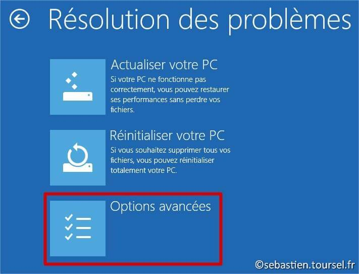 comment reparer windows 8.1 avec cd photo 2