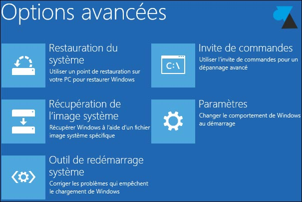 comment reparer windows 8.1 avec cd